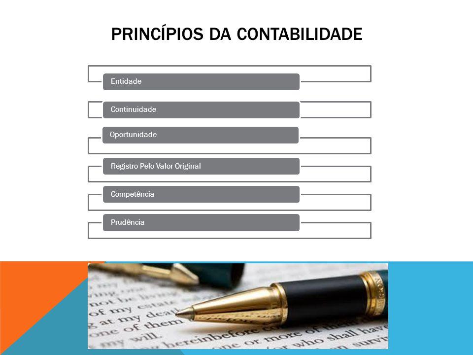 PRINCÍPIO DA ENTIDADE Art.4º.