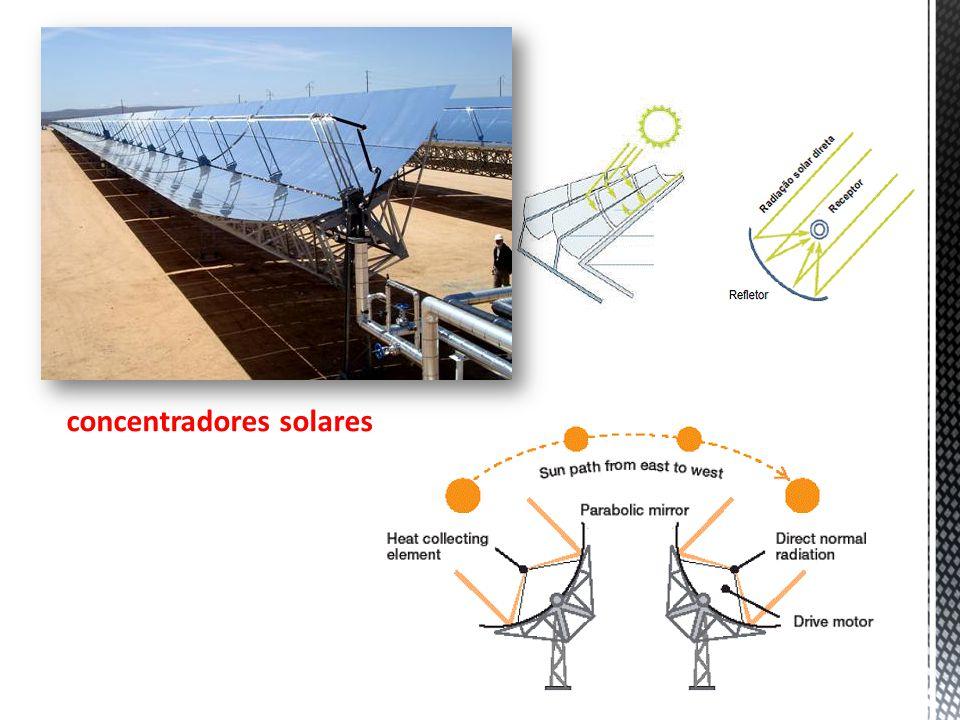 7 concentradores solares