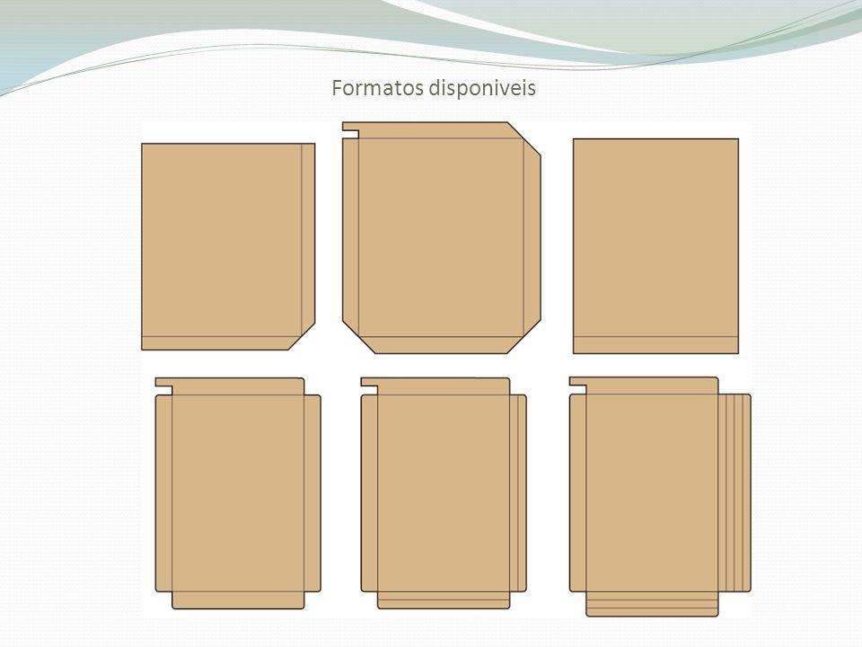 Formatos disponiveis