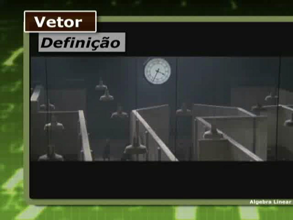 Vetores Dado um segmento orientado definimos o vetor como sendo o conjunto de todos os segmentos orientados equipolentes ao seguimento Cada segmento orientado é um representante de um vetor.
