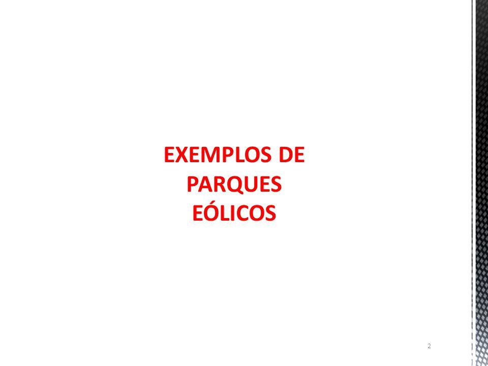 EXEMPLOS DE PARQUES EÓLICOS 2
