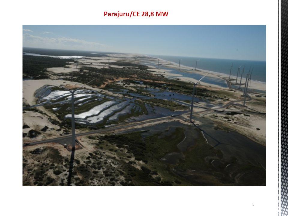 Parajuru/CE 28,8 MW 5