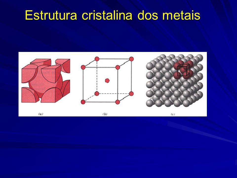 CFC - Possui planos de maior densidade atômica