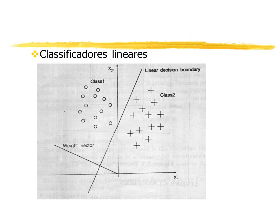 vClassificadores lineares