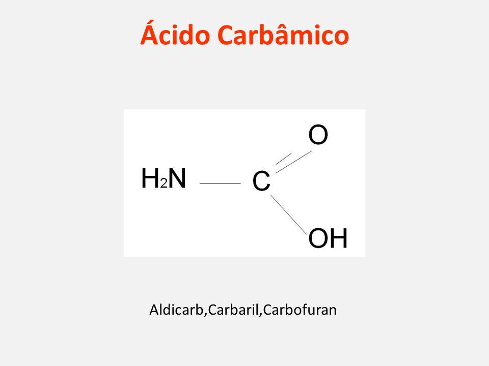 Ácido Carbâmico Aldicarb,Carbaril,Carbofuran