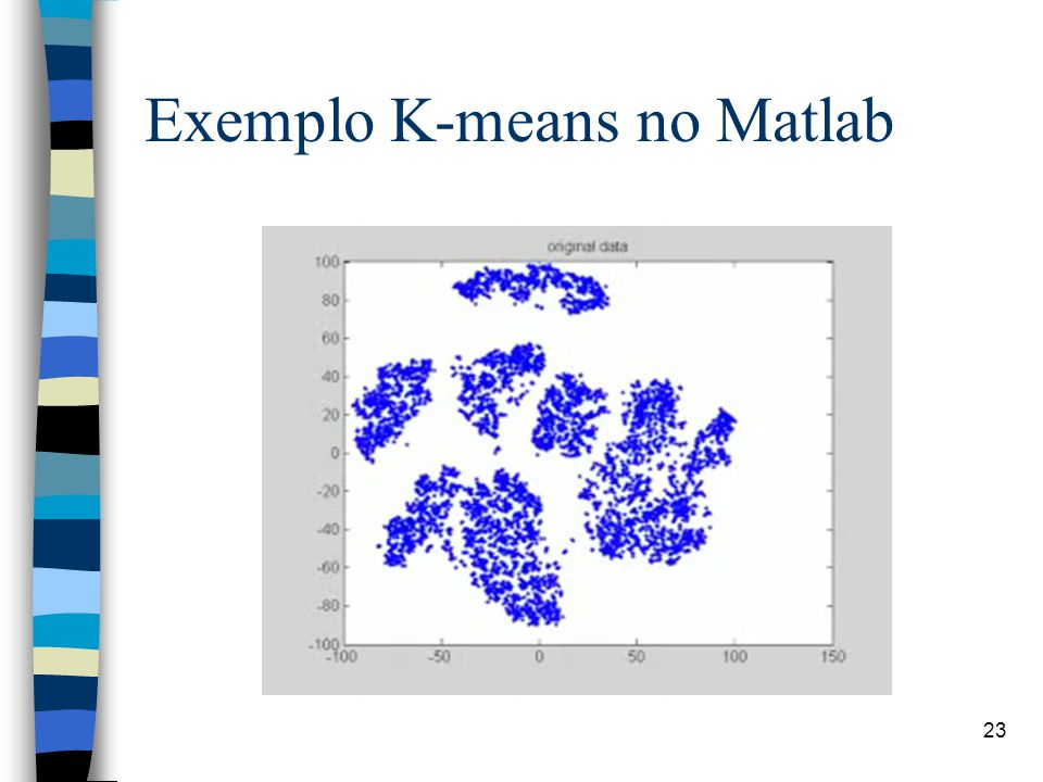 Exemplo K-means no Matlab 23