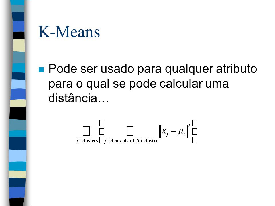 K-means Demo 17 1.User set up the number of clusters theyd like. (e.g. k=5)