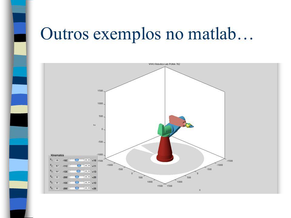 Outros exemplos no matlab…
