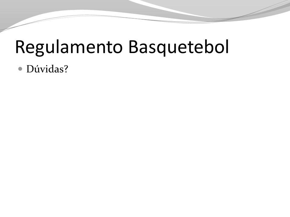 Regulamento Basquetebol Dúvidas?