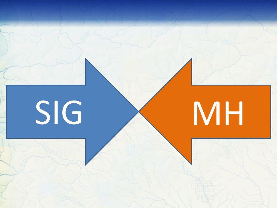 SIG & MH A utilização de SIG na modelagem hidrológica proporciona: Melhoria na comunicação Usuário – Modelo; Pré e pós-processamento de dados; Extração de dados da bacia; Automatização dos processos envolvidos na modelagem; Geração de Cenários através de mapas temáticos.