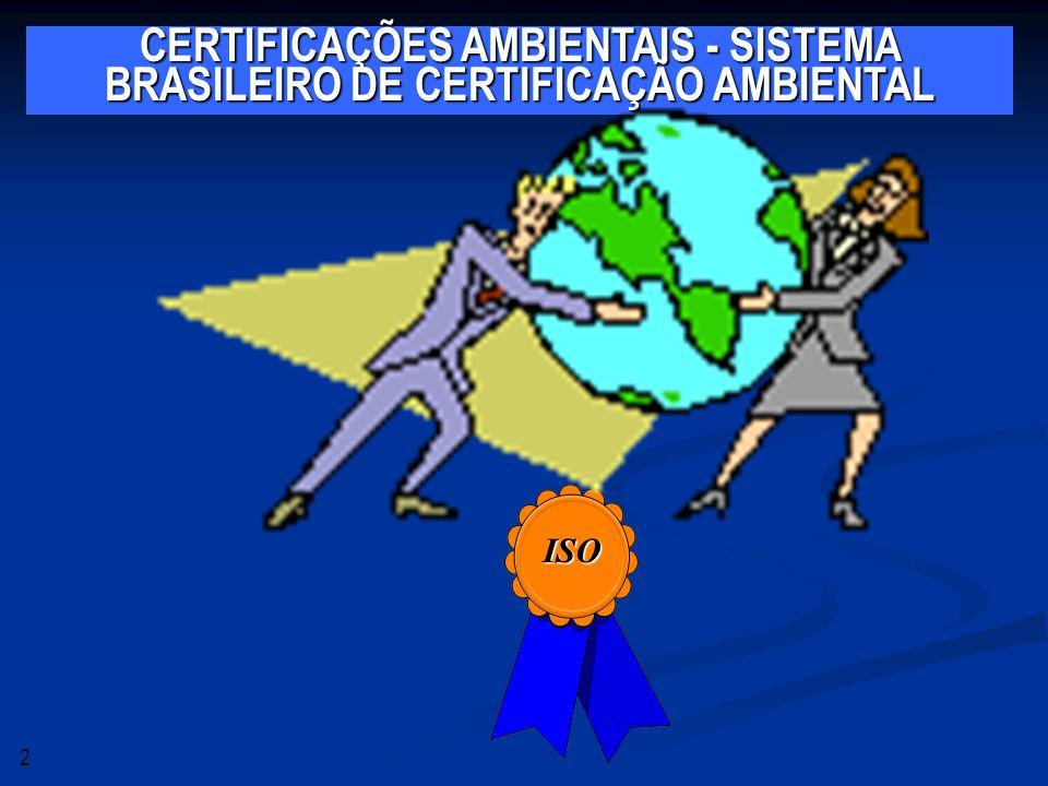 Implantação do Sistema de gestão Ambiental A família de normas ambientais tem como eixo central a norma ISO 14.001, que estabelece os requisitos necessários para a implantação de um Sistema de Gestão Ambiental (SGA).