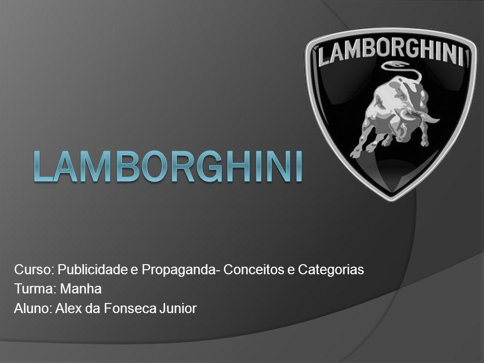 História A marca italiana Lamborghini foi fundada em 1963 por Ferruccio Lamborghini.