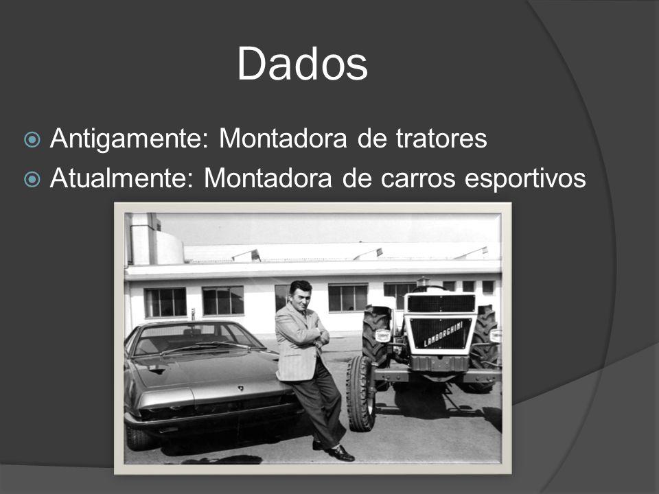 Objetivo/Público Alvo Por ser uma montadora de carros no modelo esportivo, ela procura atender ao um público jovem/adulto.