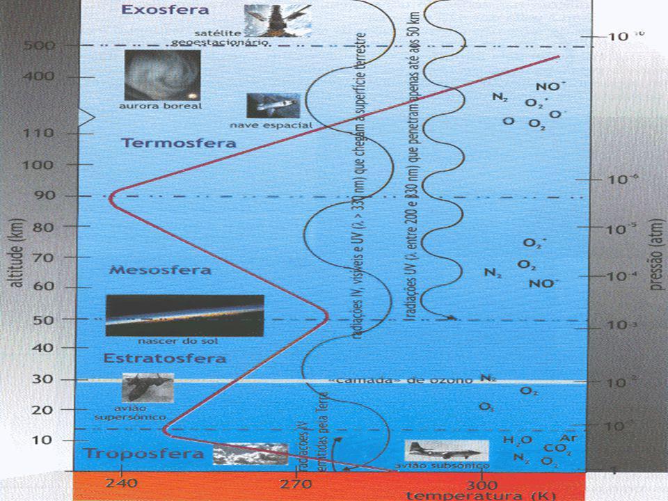 Poluição Atmosférica Presença de um ou mais gases ou partículas, em concentrações e duração tais que sejam, ou tendam a ser, prejudiciais aos seres humanos, às plantas, à vida animal e aos bens materiais Poluição Atmosférica = f(uso)