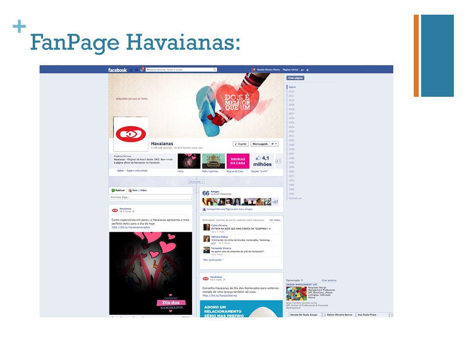 + FanPage Havaianas: