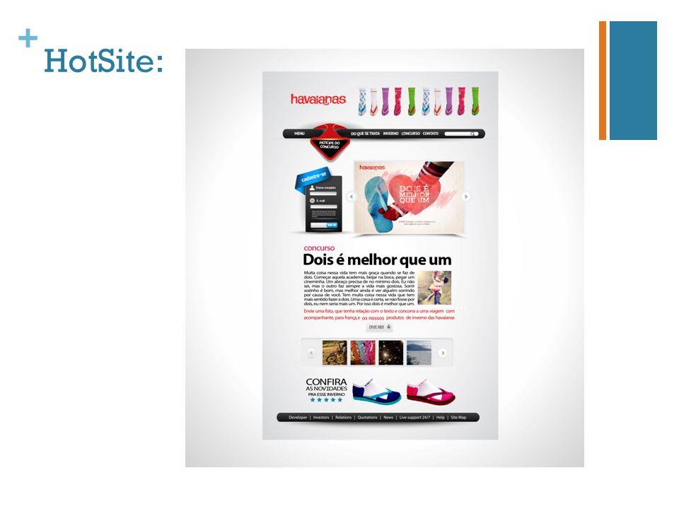+ HotSite:
