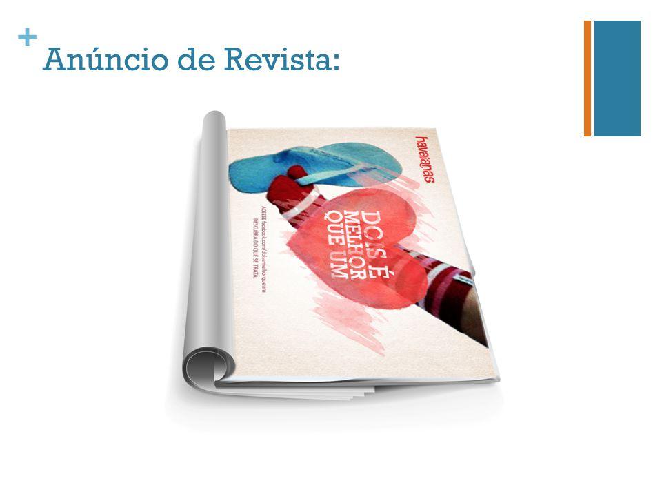 + Anúncio de Revista: