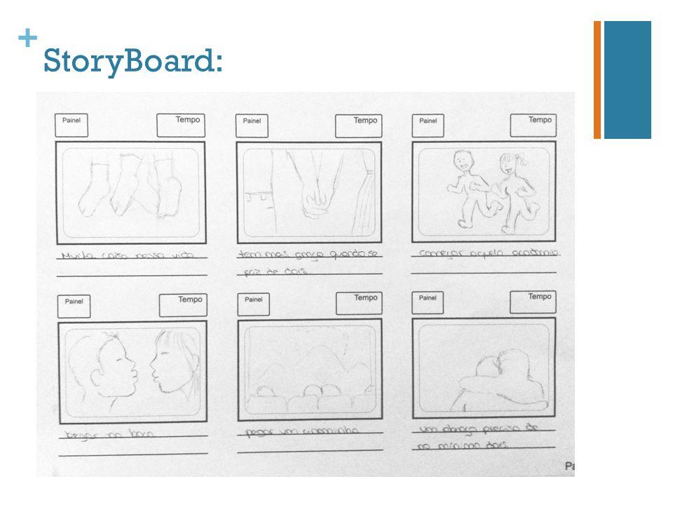 + StoryBoard: