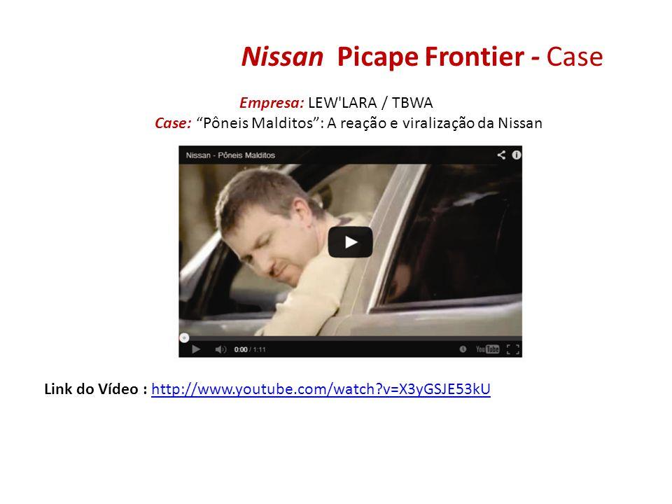 Nissan Picape Frontier - Case Empresa: LEW'LARA / TBWA Case: Pôneis Malditos: A reação e viralização da Nissan Link do Vídeo : http://www.youtube.com/