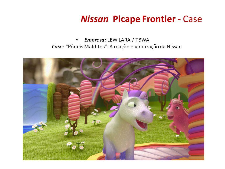 Nissan Picape Frontier - Case Empresa: LEW'LARA / TBWA Case: Pôneis Malditos: A reação e viralização da Nissan