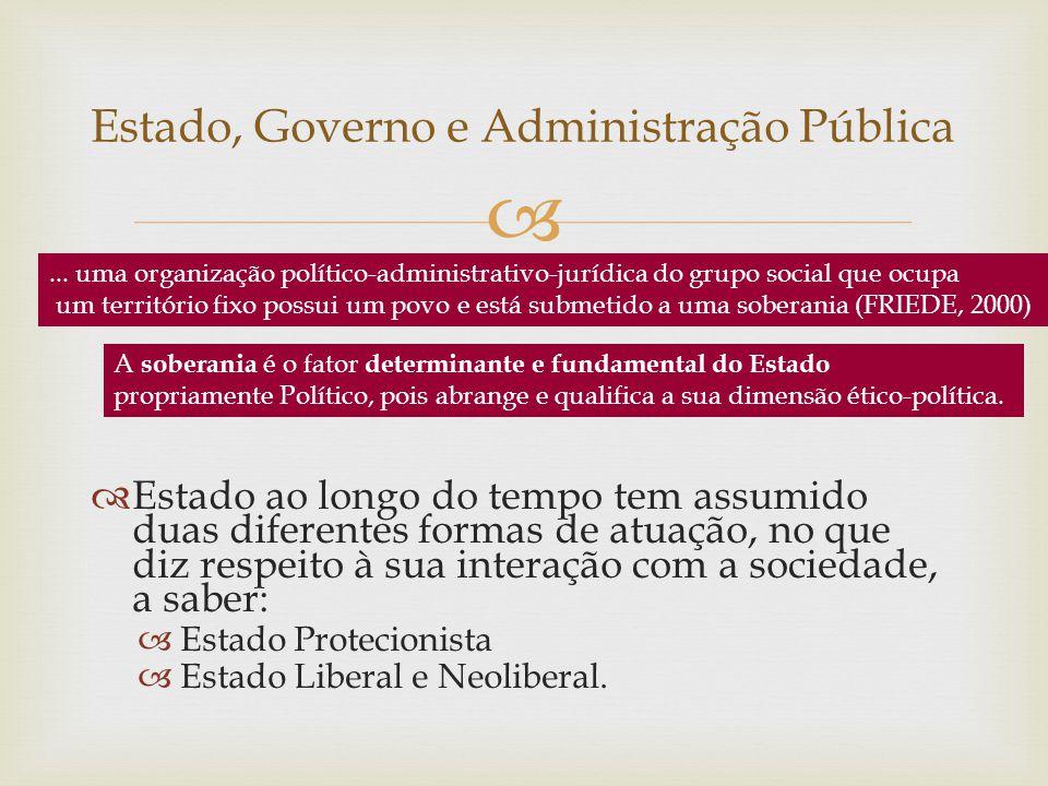 Estado é uma estrutura política e organizacional formada pelos seguintes elementos ou partes: poder político soberano, povo, que se organiza de modo a formar a sociedade; território, ou seja, uma base física sobre a qual se estende a jurisdição do poder soberano.