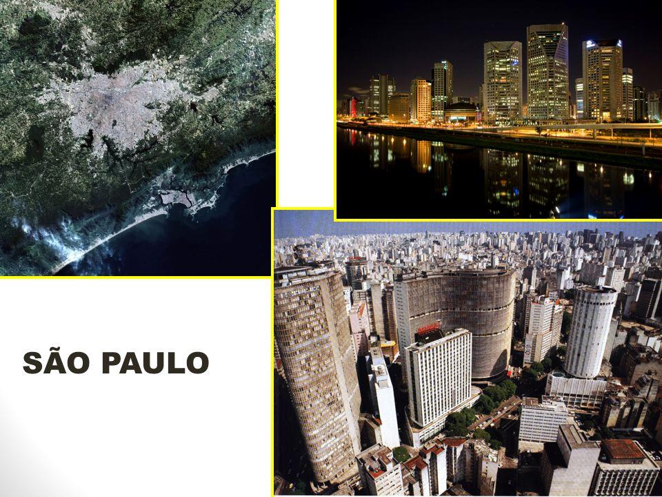 MEGALÓPOLE BRASILEIRA Junção da grande SP com a grande RJ: o Complexo Metropolitano do Sudeste.