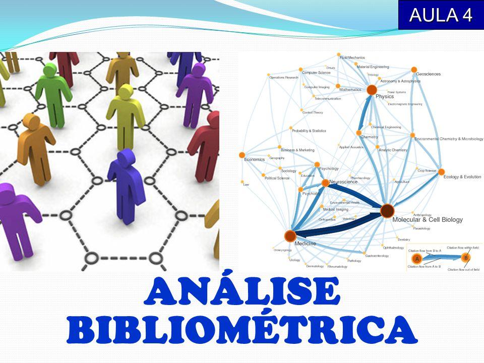 AULA 4 ANÁLISE BIBLIOMÉTRICA
