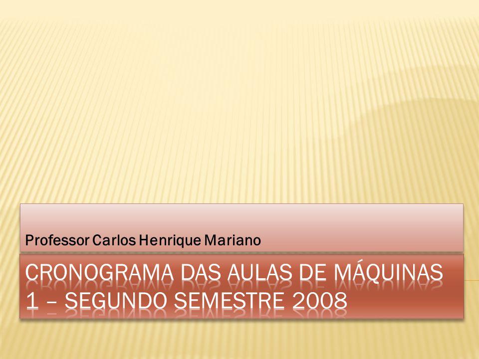 Professor Carlos Henrique Mariano