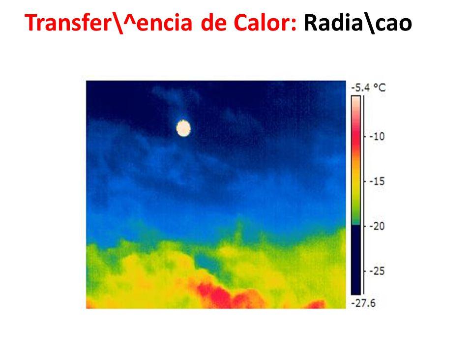 Transfer\^encia de Calor: Radia\cao