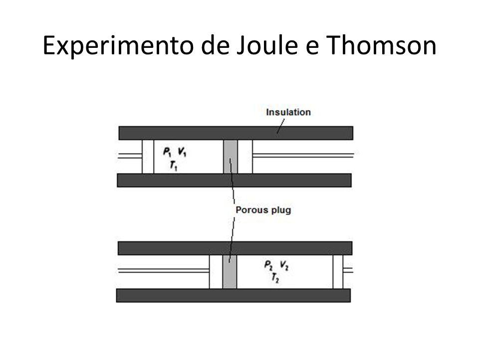 O experimento JT mostrou que para o g\as ideal (T1=T2), logo: U=U(T,N) Como encontrar U(T,N)?