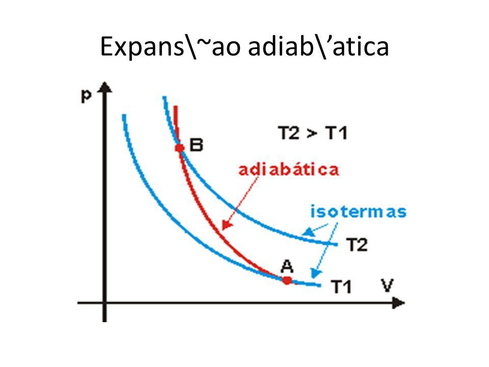 Expans\~ao adiab\atica