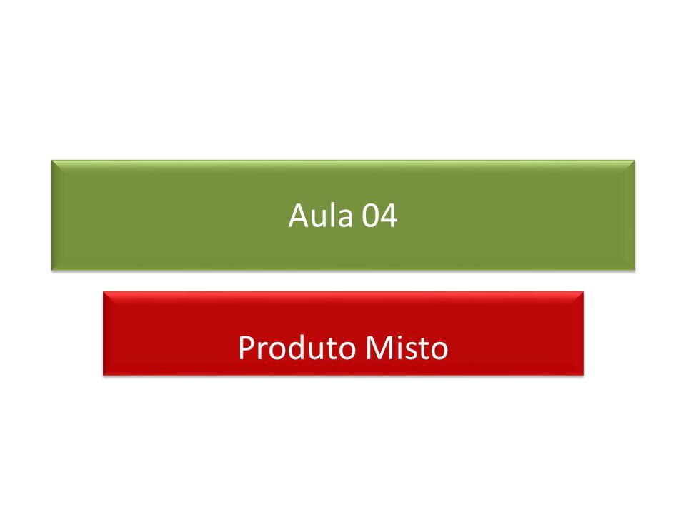 Produto misto O produto ( V × W ) U é chamado de produto misto de U, V e W. Sejam e. Então