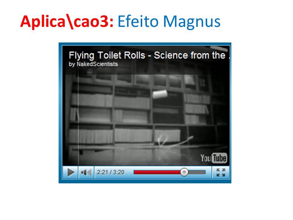 Aplica\cao3: Efeito Magnus