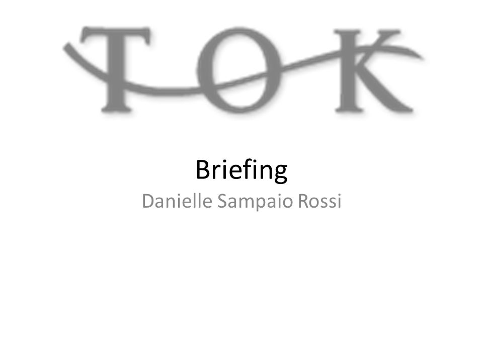 Briefing Danielle Sampaio Rossi