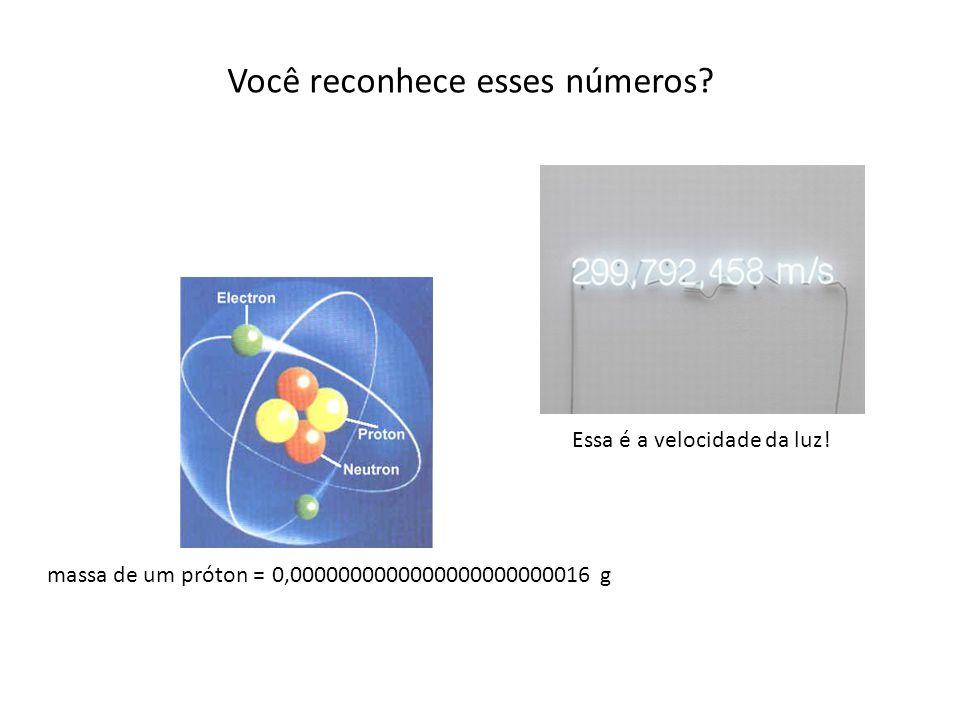 Notação Científica A notação científica é a maneira que os cientistas lidam com números muito grandes ou números muito pequenos.