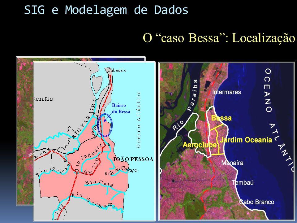 O caso Bessa: Localização Bairro do Bessa SIG e Modelagem de Dados