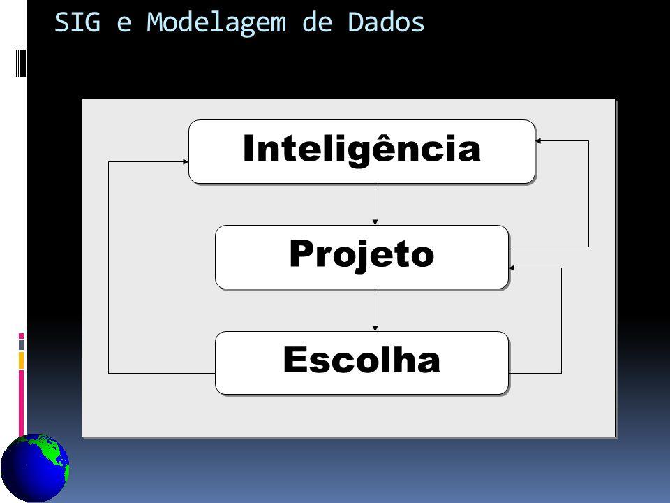 Inteligência Projeto Escolha SIG e Modelagem de Dados