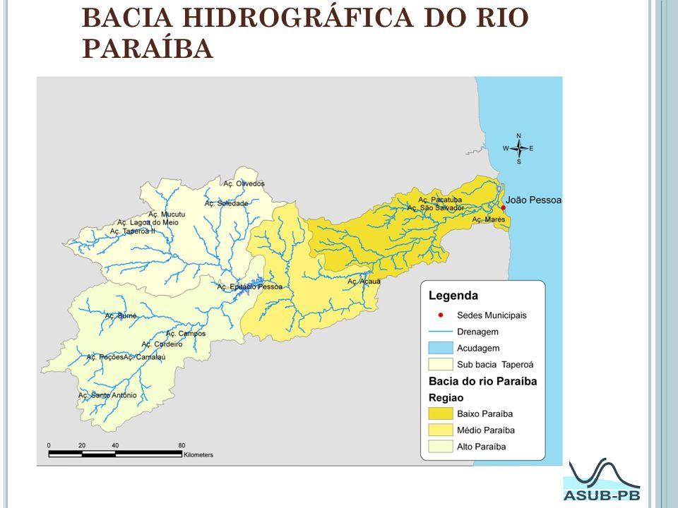 Cortes Geológicos Corte Geológico AB (Bacia Sedimentar Costeira do Baixo Curso de rio Paraíba).