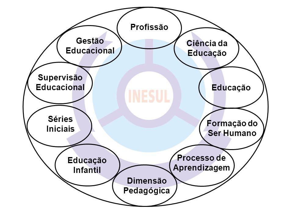Educação Formação do Ser Humano Supervisão Educacional Gestão Educacional Profissão Ciência da Educação Séries Iniciais Educação Infantil Dimensão Ped