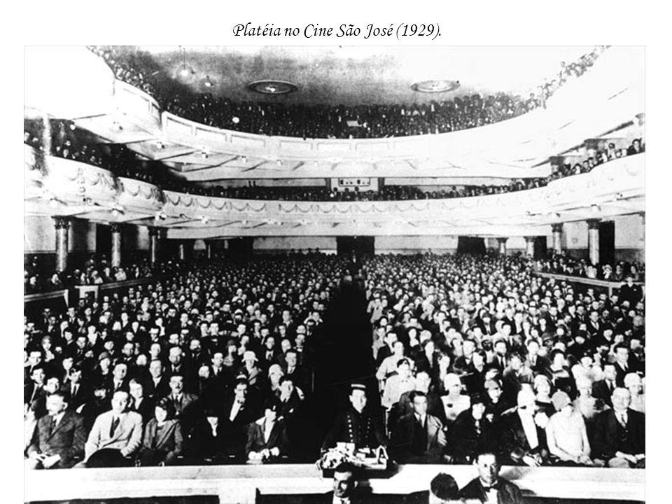 Platéia no Cine São José (1929).