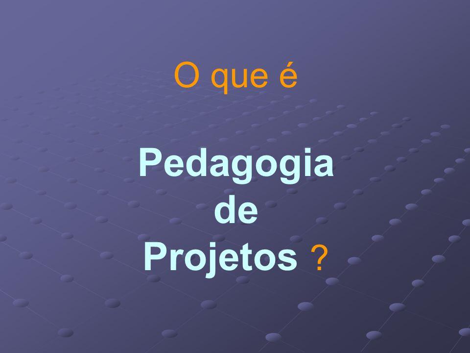 O que é Pedagogia de Projetos ?