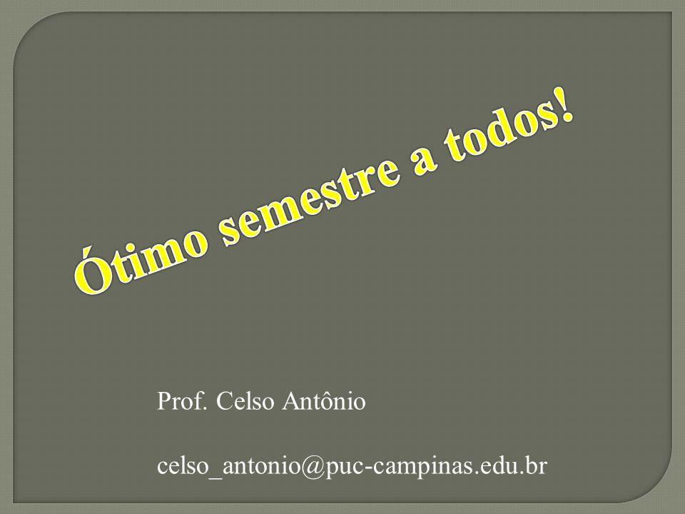 Prof. Celso Antônio celso_antonio@puc-campinas.edu.br