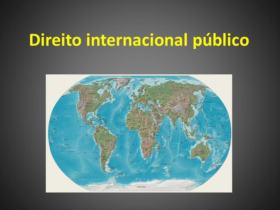Ementa do curso Introduz ao aluno o Direito Internacional Público, seus ramos e mecanismos de atuação, bem como os problemas que esse sistema jurídico deve responder.