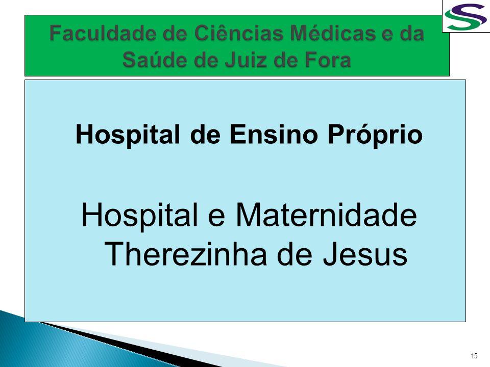 Hospital de Ensino Próprio Hospital e Maternidade Therezinha de Jesus 15