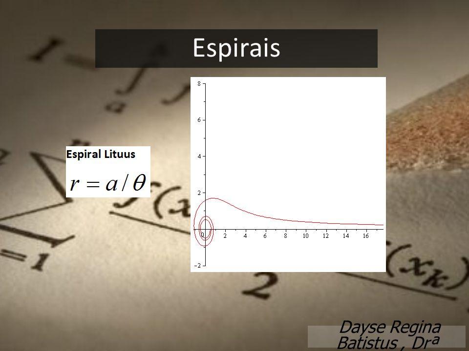 Espirais Dayse Regina Batistus, Drª