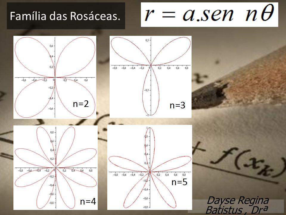 Dayse Regina Batistus, Drª Família das Rosáceas.