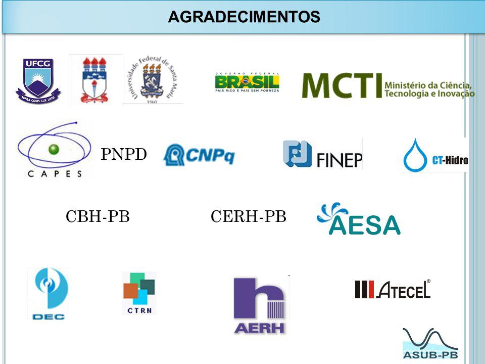 PNPD CBH-PB CERH-PB AGRADECIMENTOS