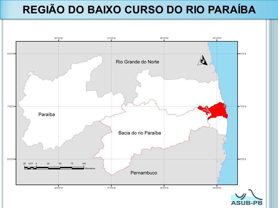 REGIÃO DO BAIXO CURSO DO RIO PARAÍBA