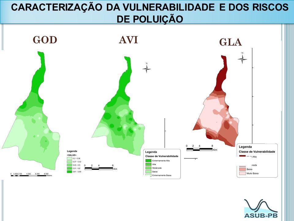 CARACTERIZAÇÃO DA VULNERABILIDADE E DOS RISCOS DE POLUIÇÃO GODAVI GLA