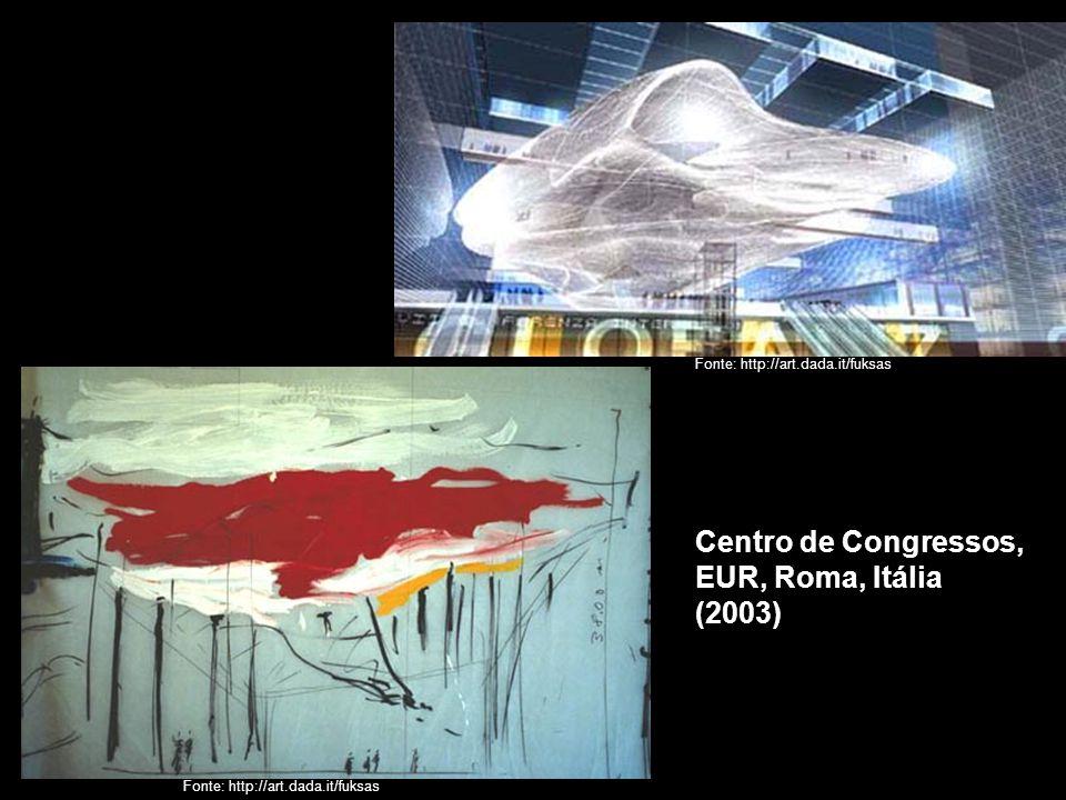 Fonte: http://art.dada.it/fuksas Centro de Congressos, EUR, Roma, Itália (2003)